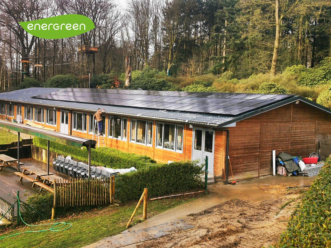 Installation panneaux photovoltaïques Sunpower Performance P19 315 Black Energreen