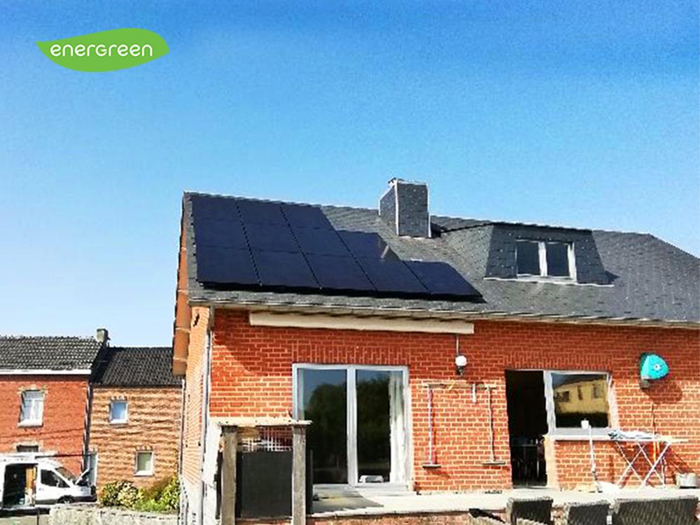Fotovoltaïsche zonnepanelen installatie Sunpower Performance P3 325 Black Energreen