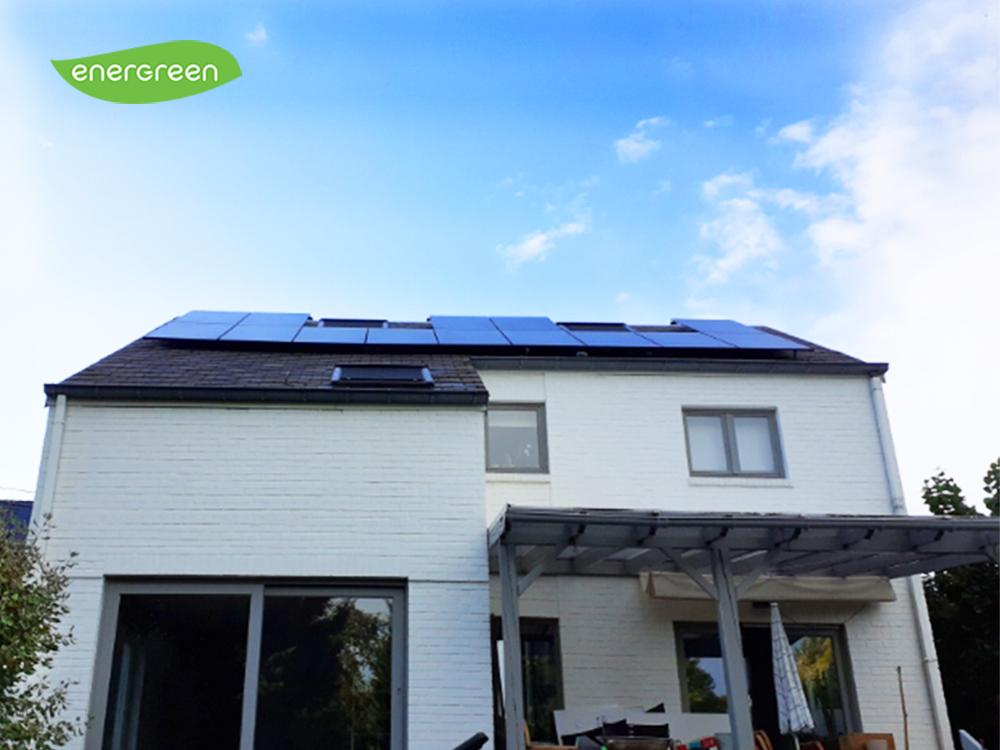 Installation panneaux photovoltaïques Sunpower Performance P3 325 Black Energreen