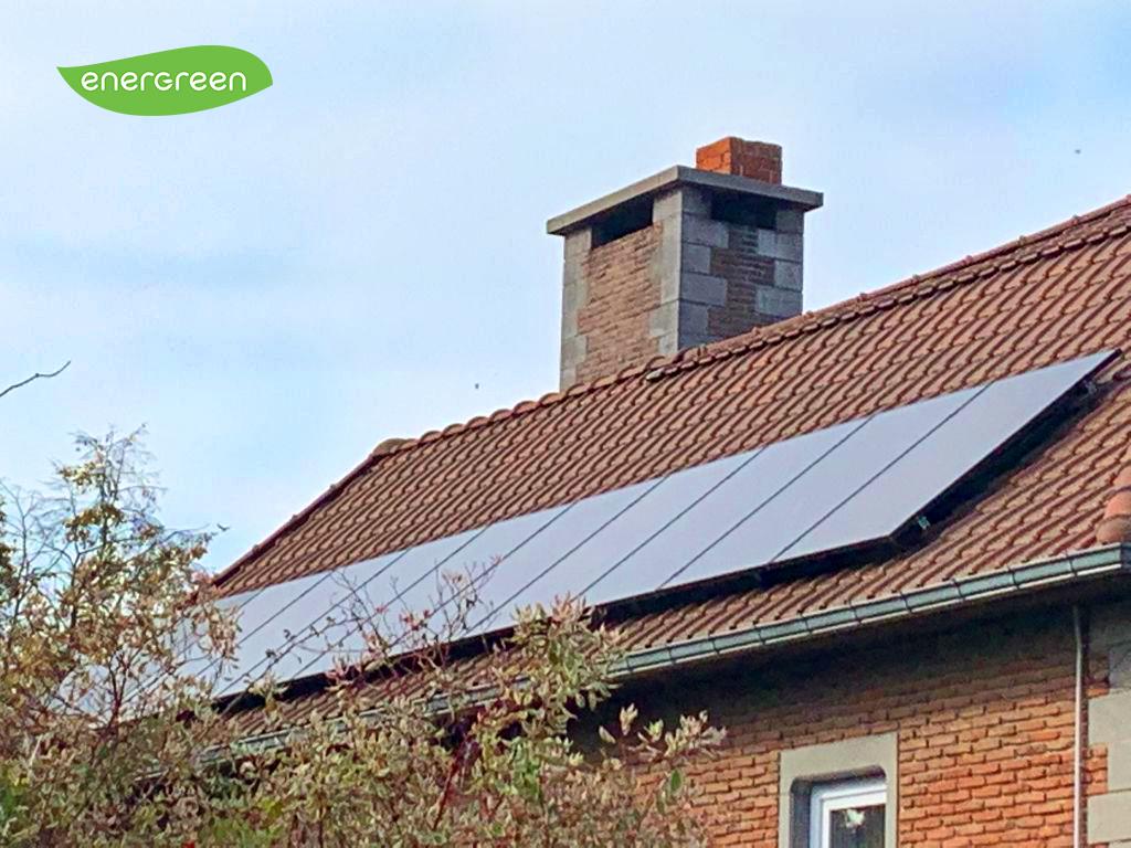 Installation panneaux photovoltaïques Label Black Energreen