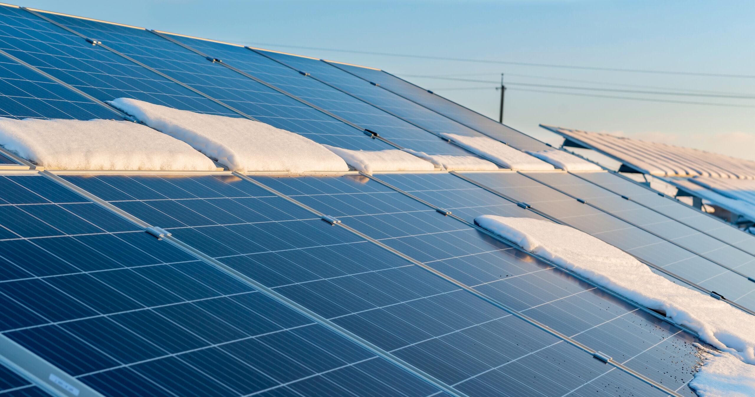 Pourquoi est-il judicieux d'installer ses panneaux photovoltaïques en hiver?