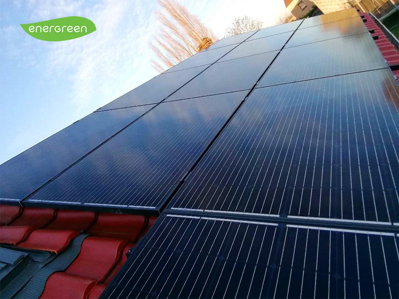 Installation panneaux photovoltaïques Seraphim 310W Label Black Energreen