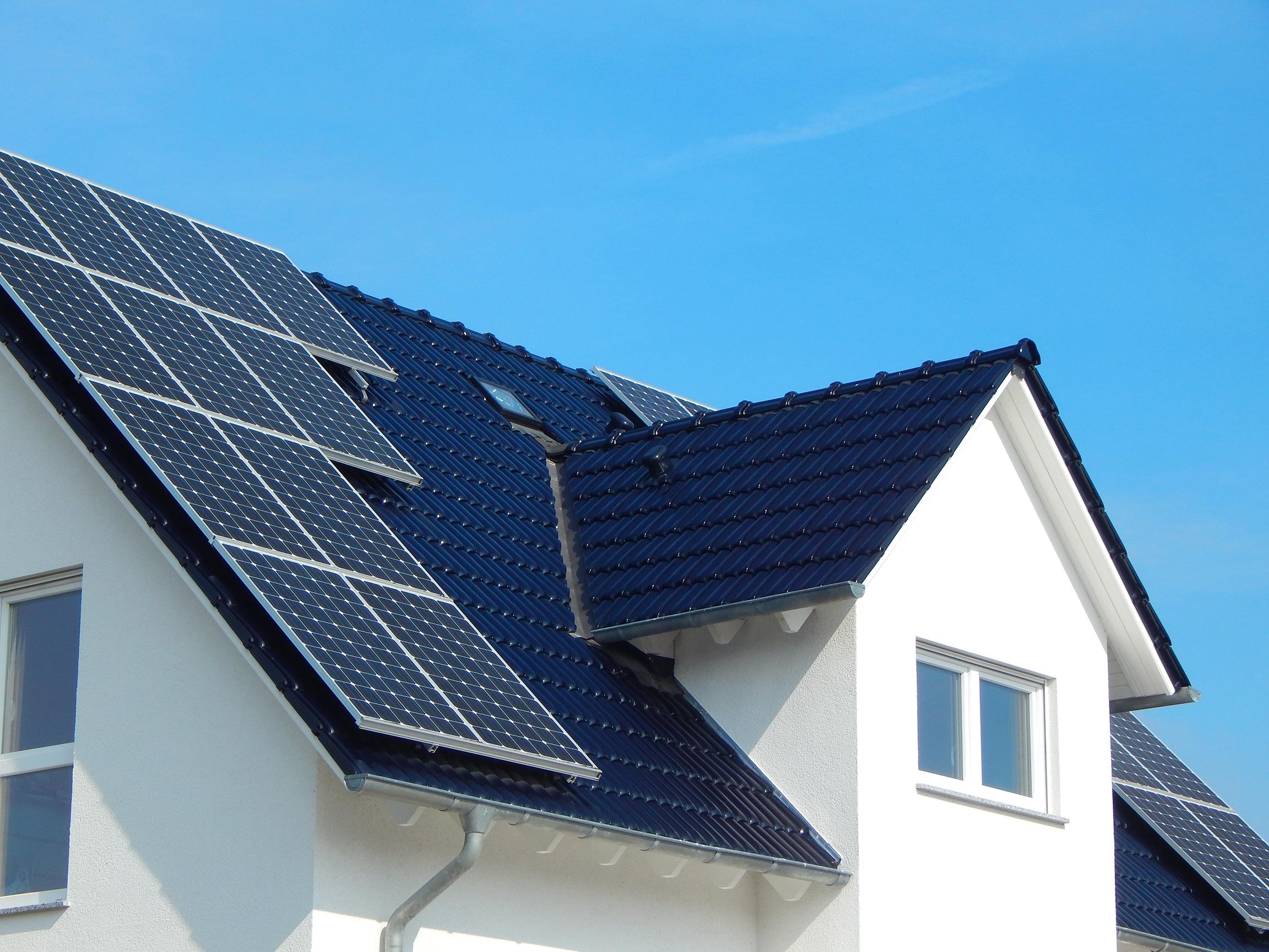 Panneaux solaires photovoltaïques Label Blue Energreen