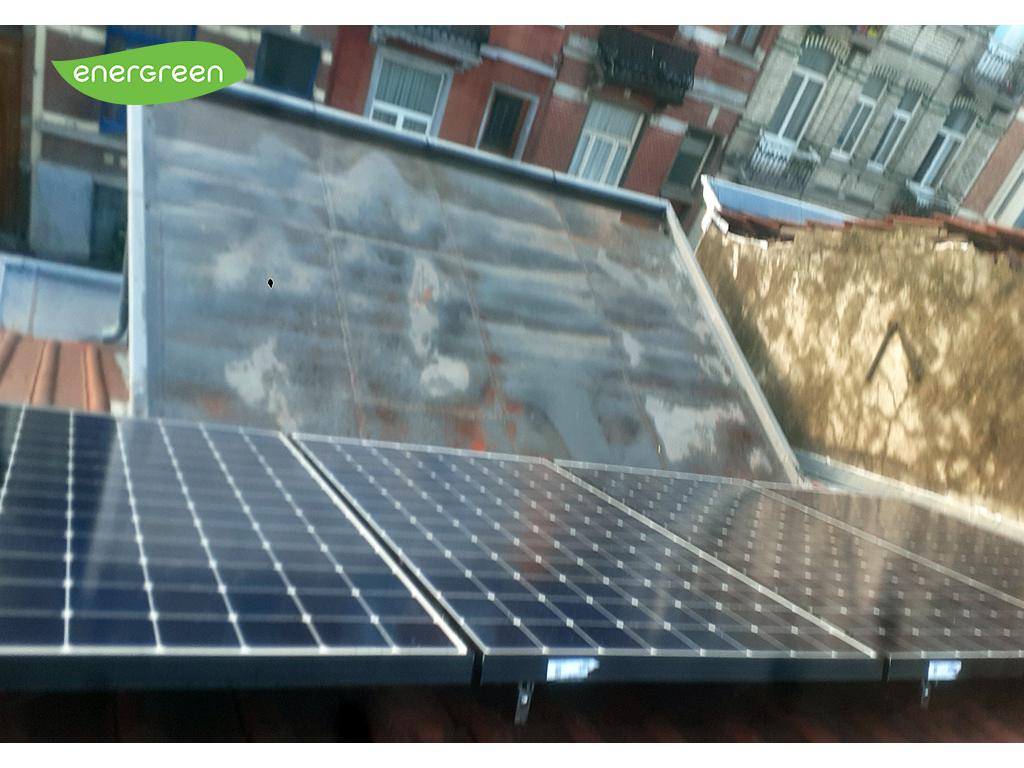 Installation panneaux photovoltaïques Sunpower Maxeon 2 350 Wc Energreen