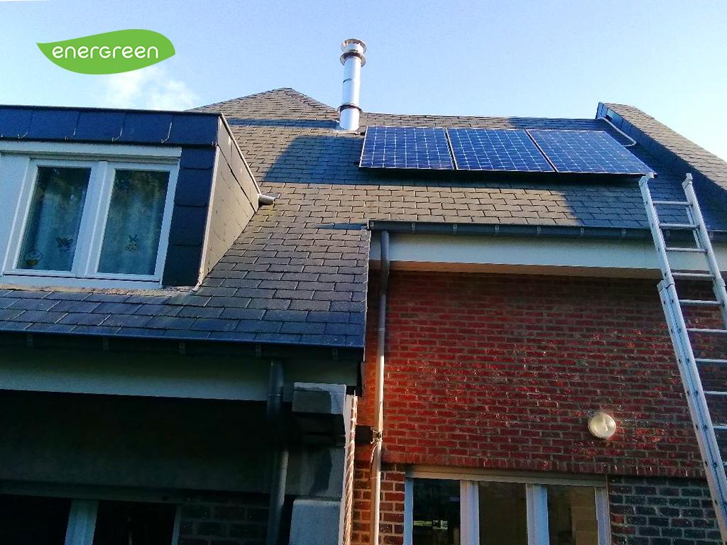 Fotovoltaïsche zonnepanelen installatie Sunpower Maxeon 3 395W Black Energreen