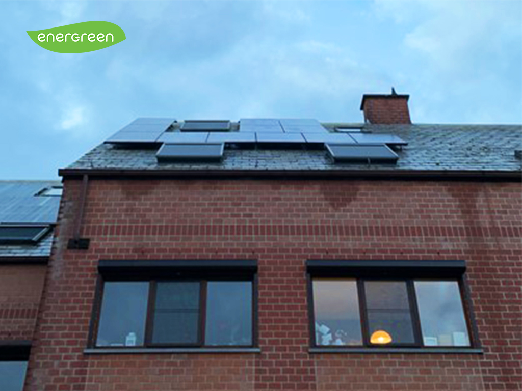 Installation panneaux photovoltaïques Sunpower X21 350 Black Maxeon Energreen