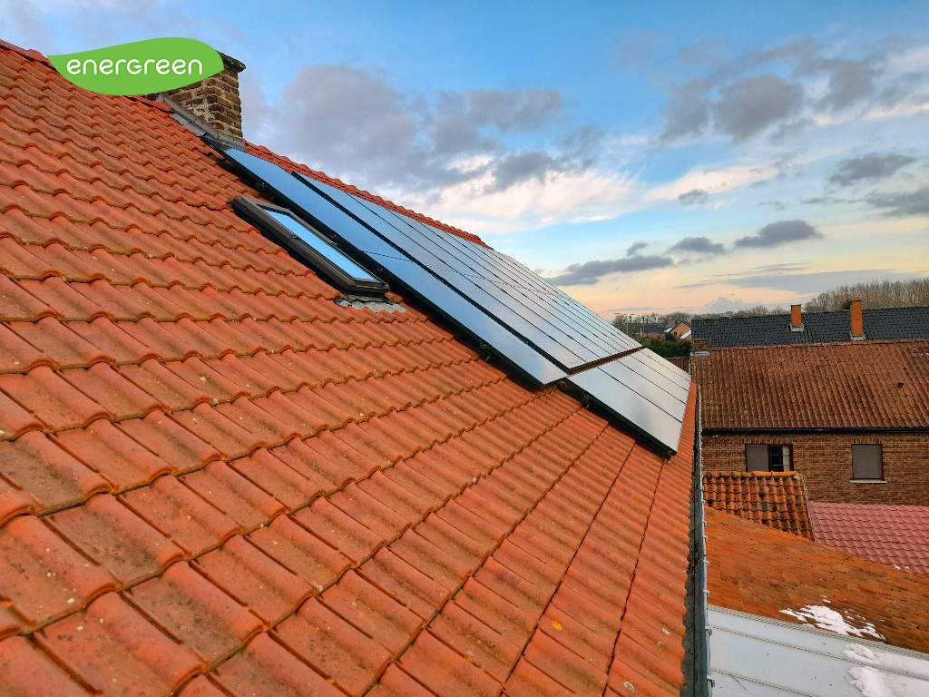 Installation panneaux photovoltaïques IBC Solar 310 W Label EU15 Energreen