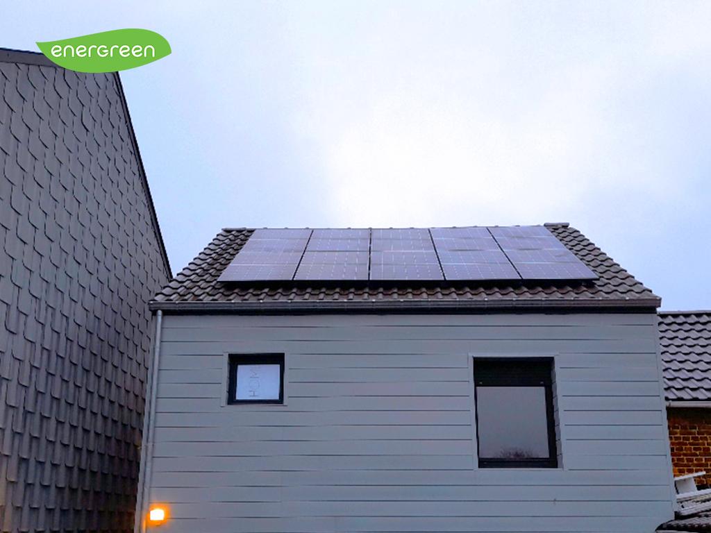 Installation panneaux photovoltaïques Trinasolar 370 Label EU15 Energreen