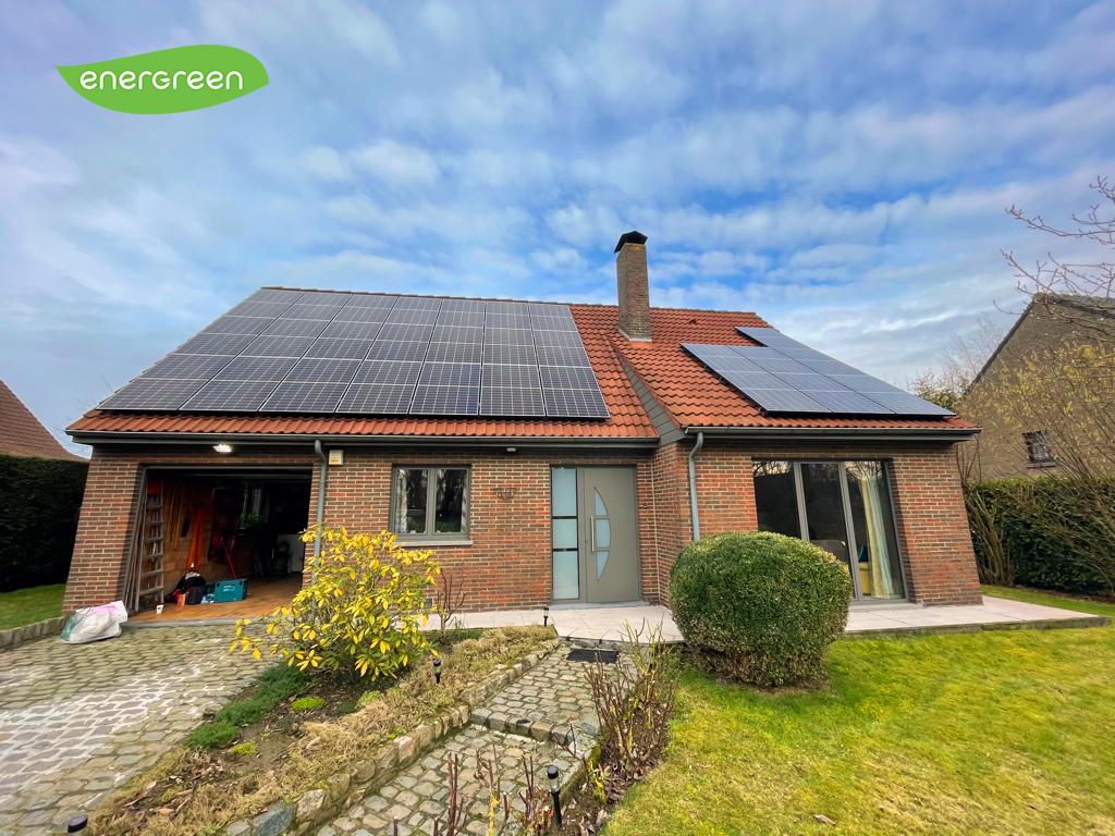 Installation panneaux photovoltaïques Trinasolar Label EU15 Energreen