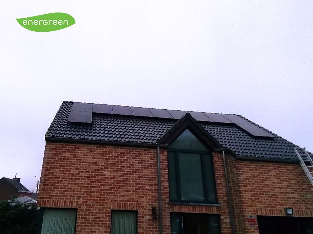 Installation panneaux photovoltaïques Sunpower Performance P3 325 wc Black Energreen