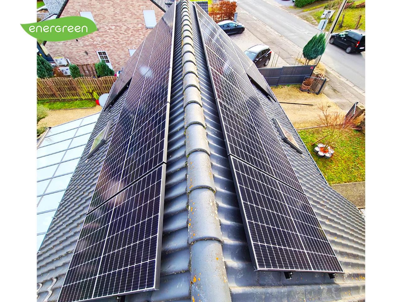 Installation panneaux photovoltaïques Trinasolar 370W Label EU15 Energreen