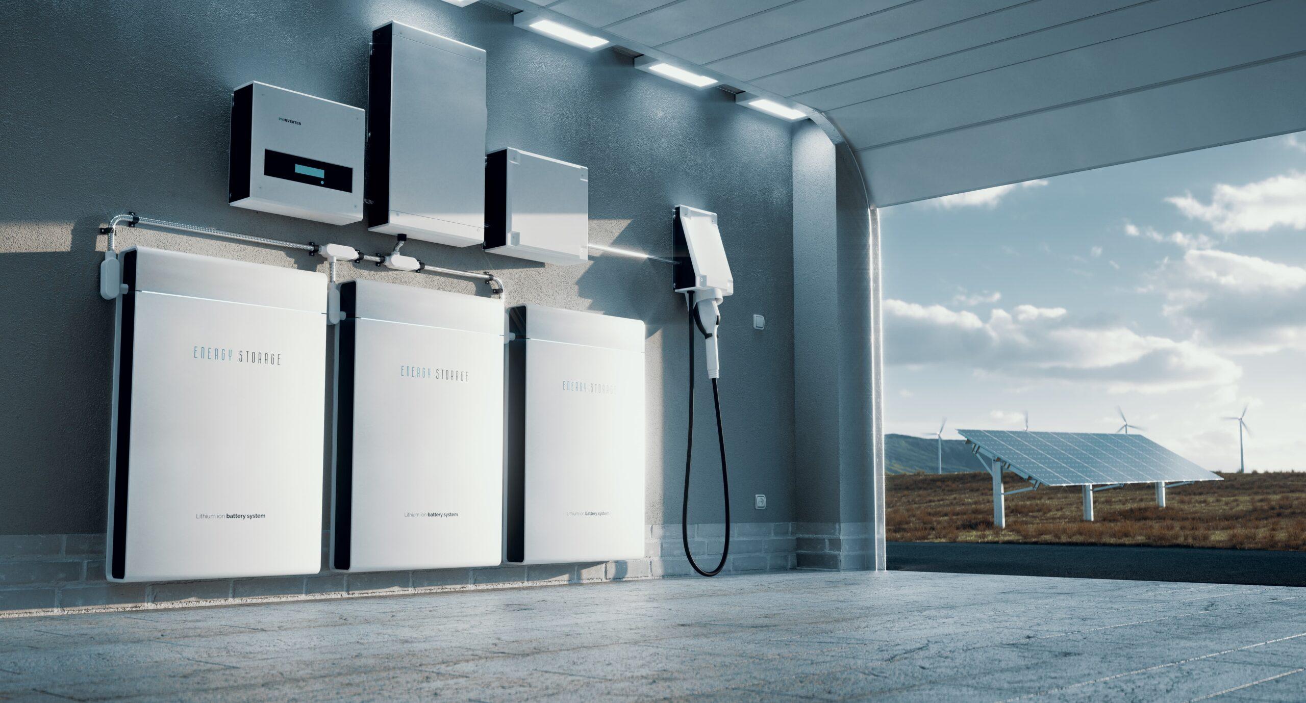 Energieopslagsysteem voor thuis
