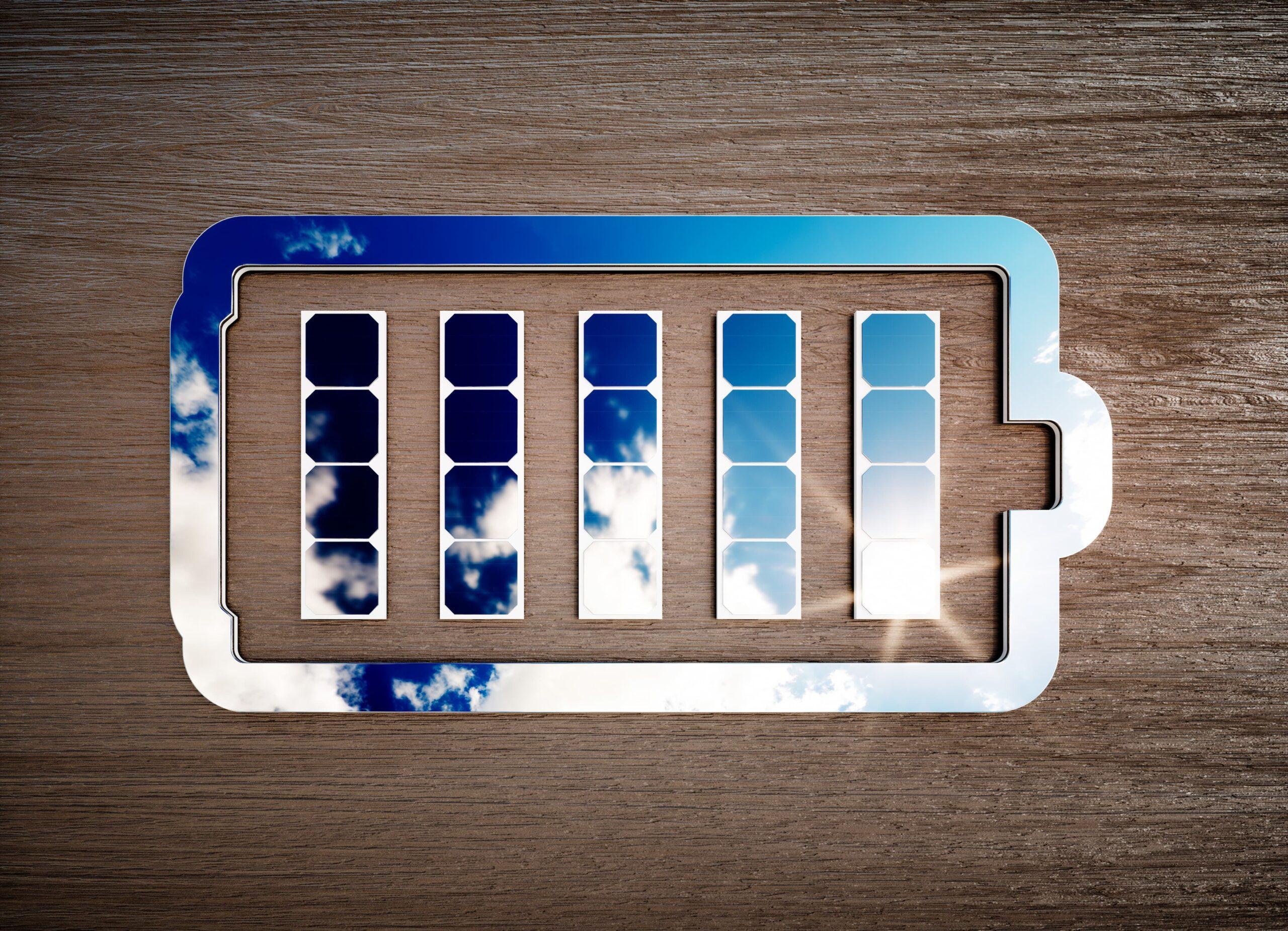 Batterie et stockage de l'énergie solaire