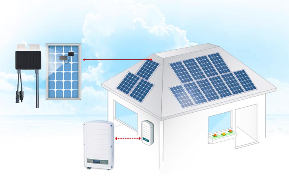 Système photovoltaïque optimisé avec onduleurs SolarEdge   Energreen