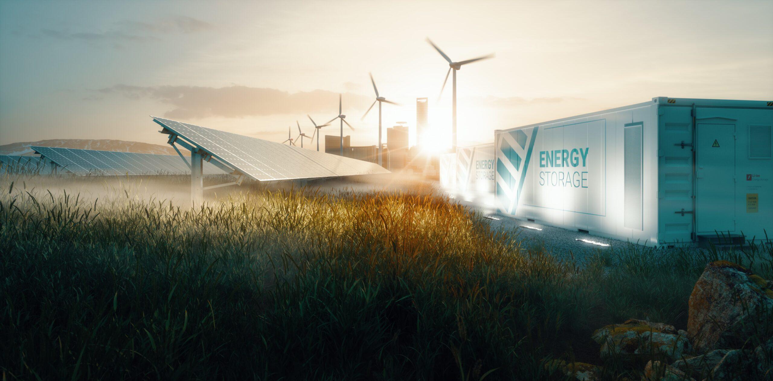 Solution de système d'énergie renouvelable de réseau intelligent
