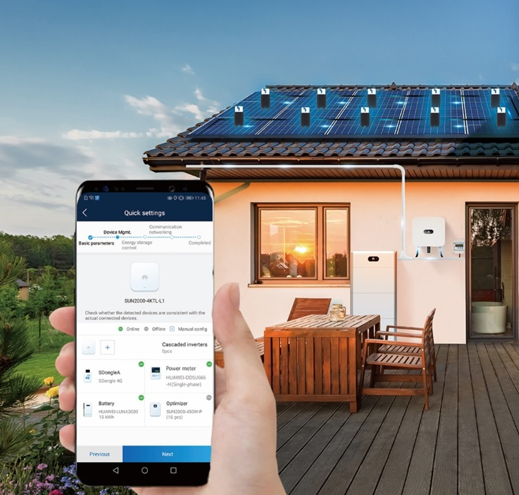 Huawei Fusion Solar monitoring onduleurs | Energreen