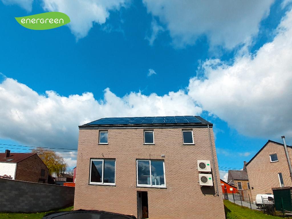 Installation panneaux photovoltaïques Sunpower Maxeon3 400 | Energreen