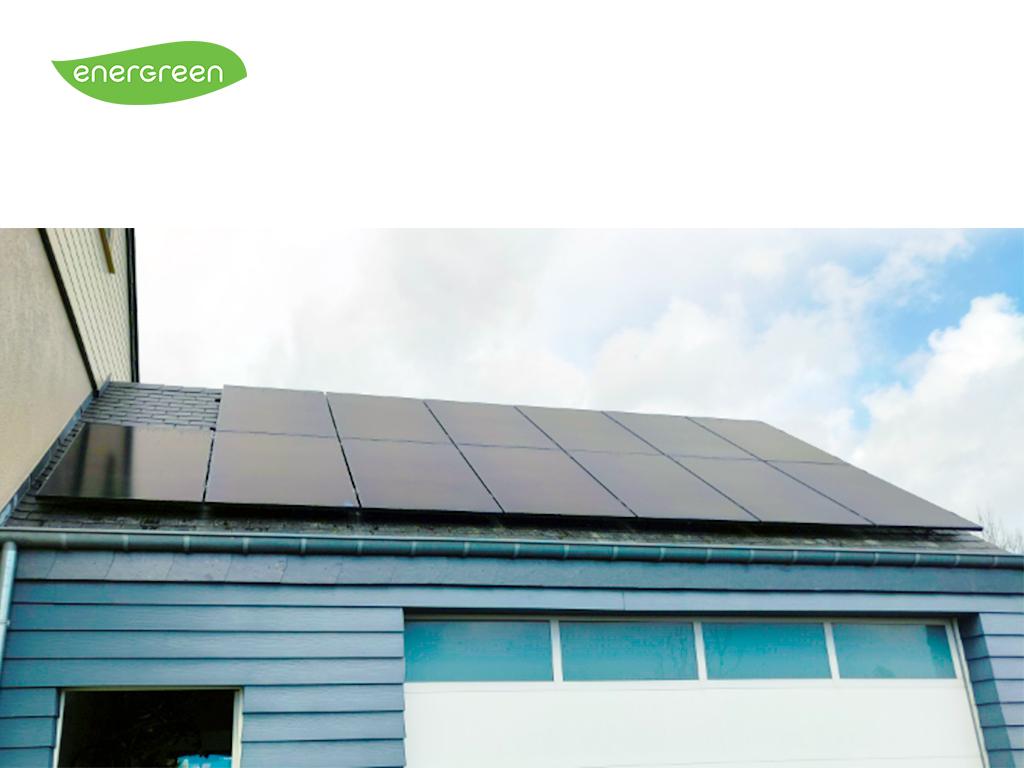 Fotovoltaïsche zonnepanelen installatie Sunpower Performance P3 325 Black | Energreen