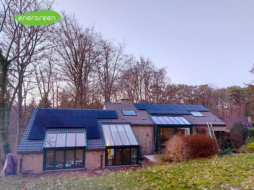 Installation panneaux photovoltaïques Sunpower Performance P3 325 Black | Energreen