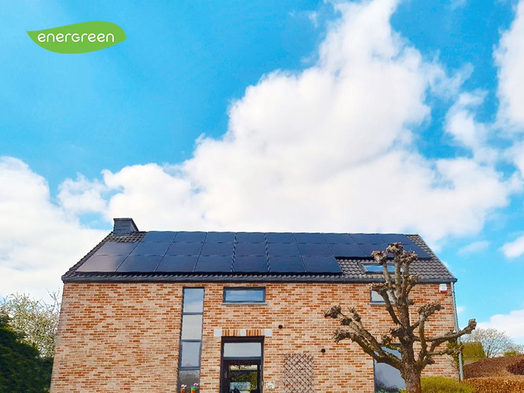Installation panneaux photovoltaïques Sunpower Performance P3 375 Black | Energreen