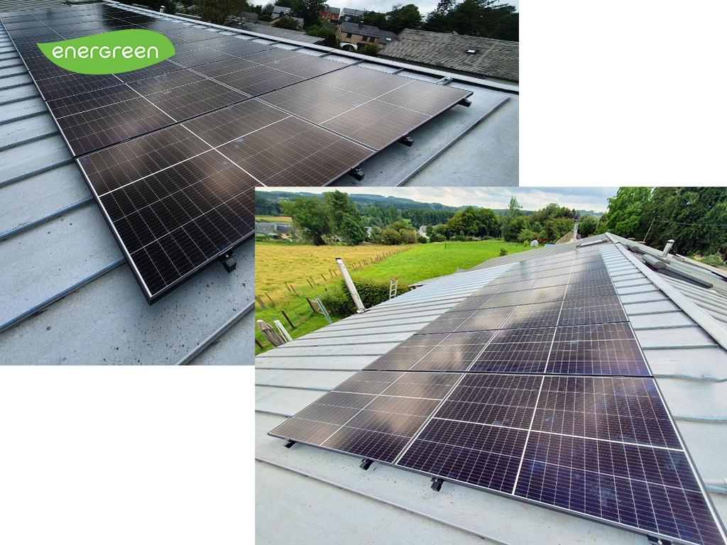 Installation panneaux photovoltaïques Trinasolar Vertex 400W   Energreen