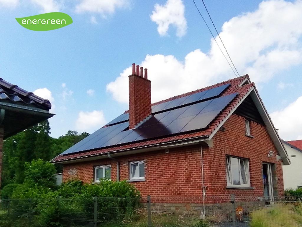 Installation panneaux photovoltaïques Sunpower Performance P3 Black   Energreen