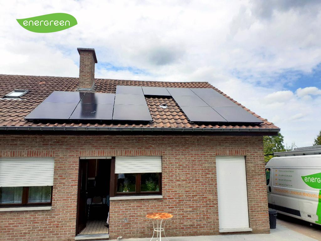 Installation panneaux solaires Sunpower Performance P3 375W Black   Energreen
