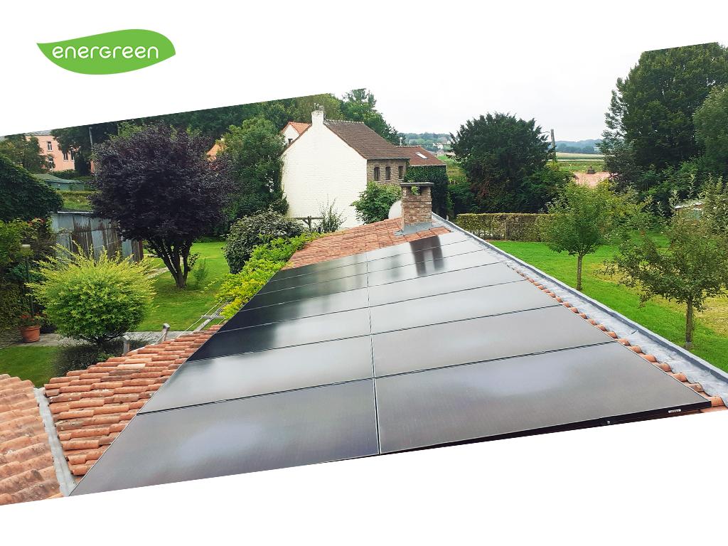 Installation panneaux solaires Sunpower Performance P3 375 Black   Energreen