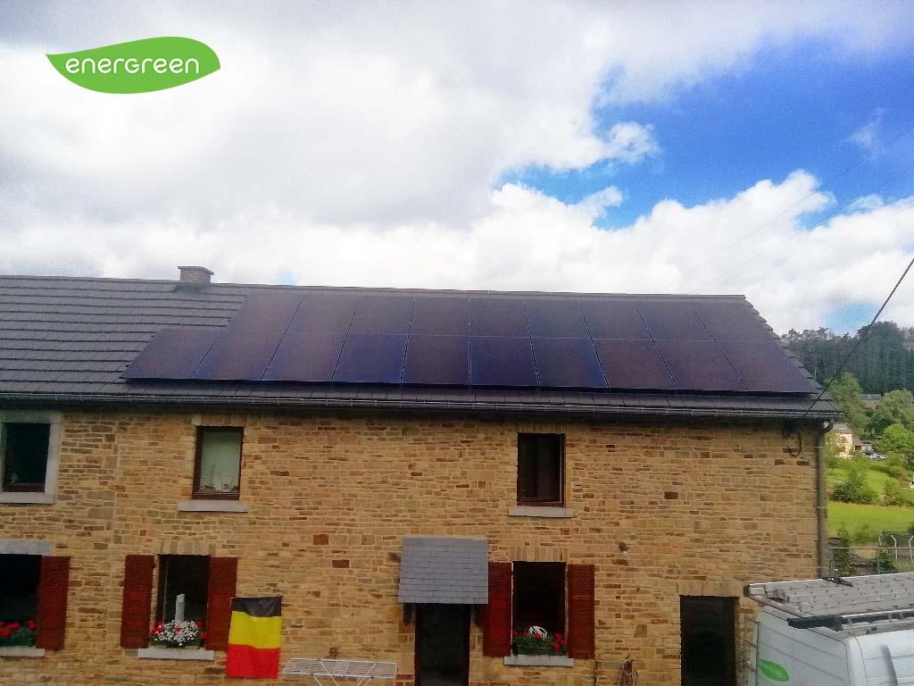 Installation panneaux photovoltaïques Sunpower Performance P3 375W Black | Energreen
