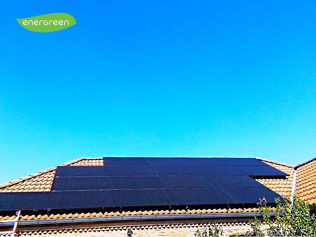 Installation panneaux solaires Hyundai S395VG Black   Energreen
