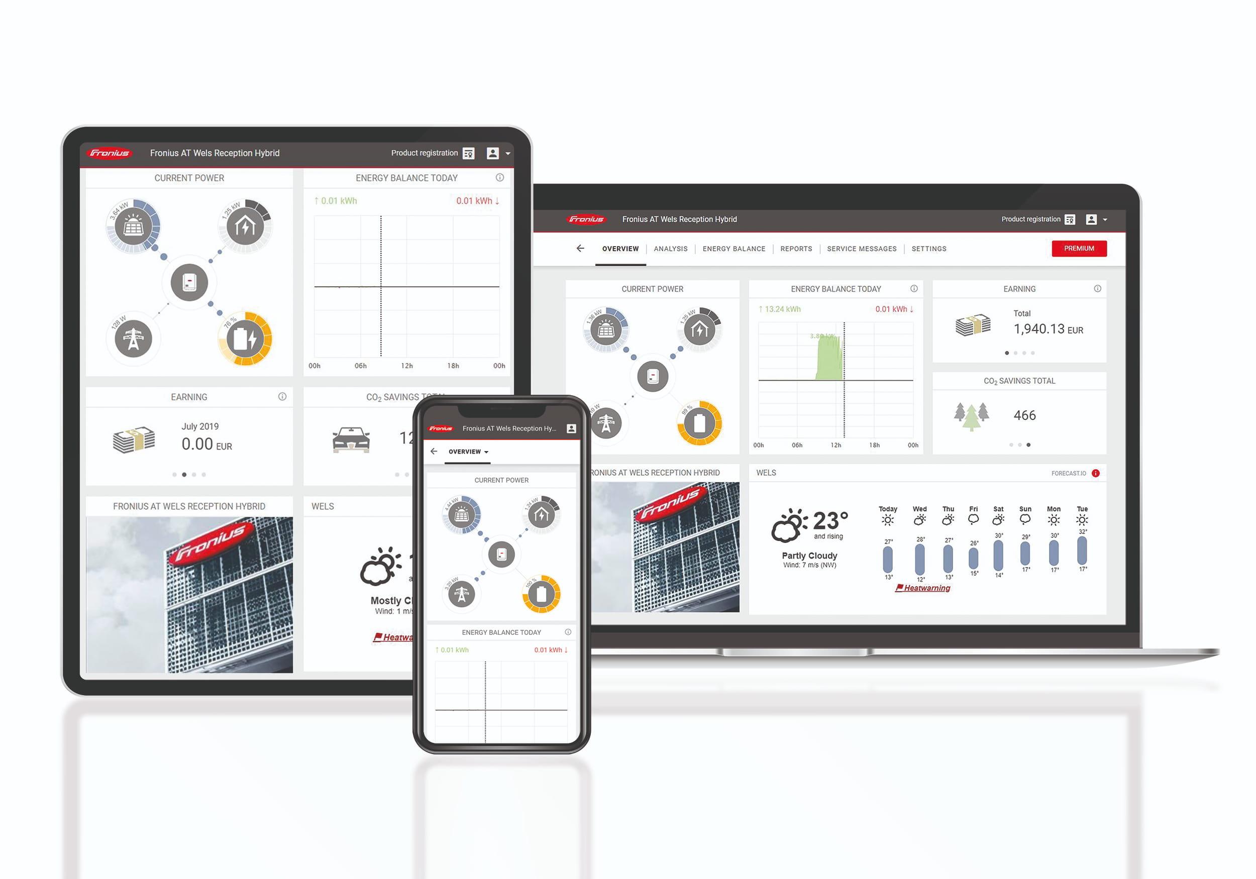 Fronius Solar web application | Energreen